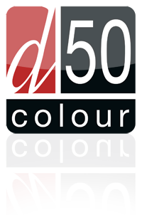 D50 Colour Management Logo